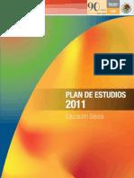 Plan de Estudios 2011 Educacion Basica.