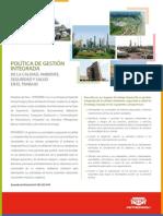 Politica GICASST Petroperu