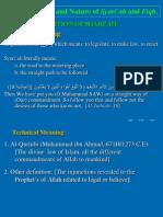 1. Def of Shariah & Fiqh(1)