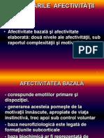 TULBURARILE AFECTIVITATII psihiatrie adulti