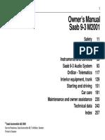 2001 Saab Manual