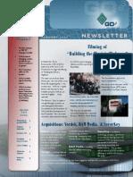 GOe3 Official Newsletter January 2014