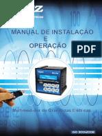 Manual Multimedidor de Grandezas Elétricas  Mri Tf92