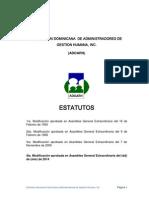 Propuestas Modificacion Estatutos Adoarh - Feb 2014