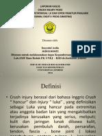 Laporan Kasus Crush Injury
