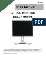 Dell 1707FPc Service Manual