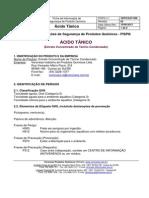 [pt002] FISPQ-Ácido Tânico