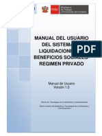 Manual Usuario Liquidaciones