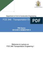 FCE 346_2014_Unit_1 - Lecture Slides