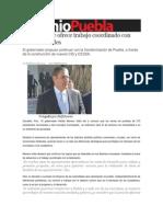 16-02-2014 Sexenio Puebla - Moreno Valle ofrece trabajo coordinado con nuevos alcaldes.pdf