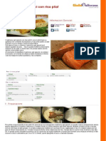 GZRic Salmone Agli Agrumi Con Riso Pilaf