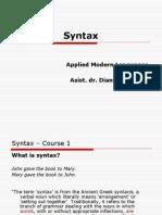 Syntax 2
