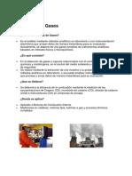 Análisis de Gases y calderas