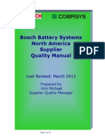Cobasys Supplier Quality Manual