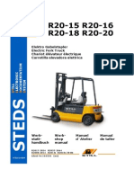 Still Electric Fork Truck R20-15 R20-16 R20-18 R20-20 Factory Service Repair Workshop Manual Instant Download