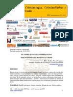 El crimen ecológico internacional/The international ecological crime