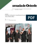 17-02-2014 La Jornada de Oriente - Gobierno incluyente y transformación para Tepeaca, ofrece Huerta Ruiz.pdf