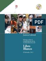 Informe Sobre Las Recomencaiones Del Libro Blanco