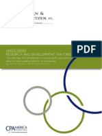 r d Tax Credit White Paper