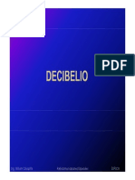 1.- Decibelio