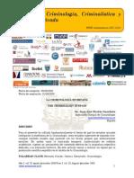 La Criminología en España/The Criminology in Spain