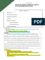 Formato APA Para Presentacion de Su Tesis IPPSON