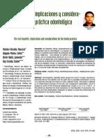 Hepatitis Víricas en la Práctica Odontológica