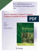 Anatomia Turneraceae 2012