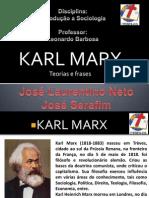 Karl Marx Introdução a Sociologia