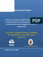 Cartilla Orientacion Defensoria Del Pueblo