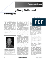 E-Learning , Study Skills and Strategies