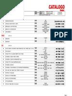 Catalogo Bh Arboles de Levas 2012