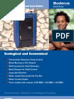 Buderus Logano G201 Wood and Coal Boiler Brochure