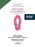 dimensões da radiônica - novas técnicas de cura - david v[1]. tansley