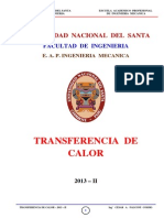 Transf. Calor - 2013 - II - Sesión N_ 1- II Unidad