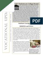 CAVC Newsletter #4 2013-14