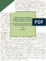 Indios Serranos y Tlaxcaltecas,  Españoles y Mestizos del Pueblo de Purificación (Gil de Leyva) NL por Jorge H Elías