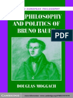 The Philosophy and Politics of Bruno Bauer - Douglas Moggach