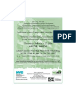 Go Green Forum hosted by WE ACT and Harlem Community Development Corporation