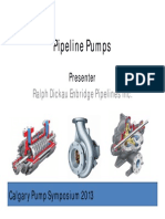 Pipeline Pumps