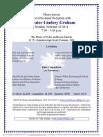 Pro-Israel Reception for Lindsey Graham