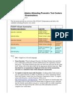 Togaf9 Exam Advice Prometric