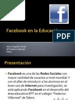 Facebook en la Educación