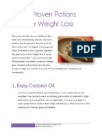 Dr Sara - 5 Proven Potions For Weight Loss