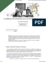 Isabella Leibrandt_ La didáctica de la literatura en la era de la medialización