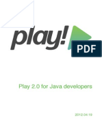 Play 2.0 for Java Developers