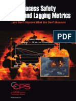 Process Safety Leading and Lagging Metrics - CCPS - 2011