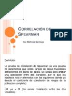 Correlación de Spearman