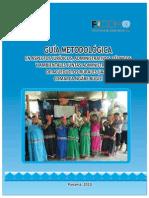 Guia Metodologica JAAR Comarca Ngabe Bugle 2010
