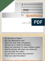 Questions (grammar)